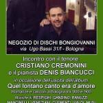 Locandina Presentazione negozio Bongiovanni