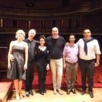Backstage Requiem Verdi a San Paolo del Brasile