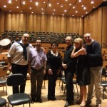 Backstage Requiem di Verdi a San Paolo del Brasile
