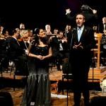 Cremonini e Corvino con l'orchestra irachena