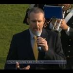 Cristiano Cremonini da La7 Stadio Franchi Firenze