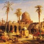 Dipinto Antica Baghdad