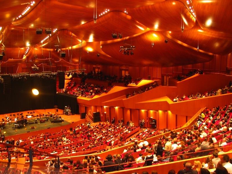 Auditorium parco della musica roma cristiano cremonini for Auditorium parco della musica sala santa cecilia