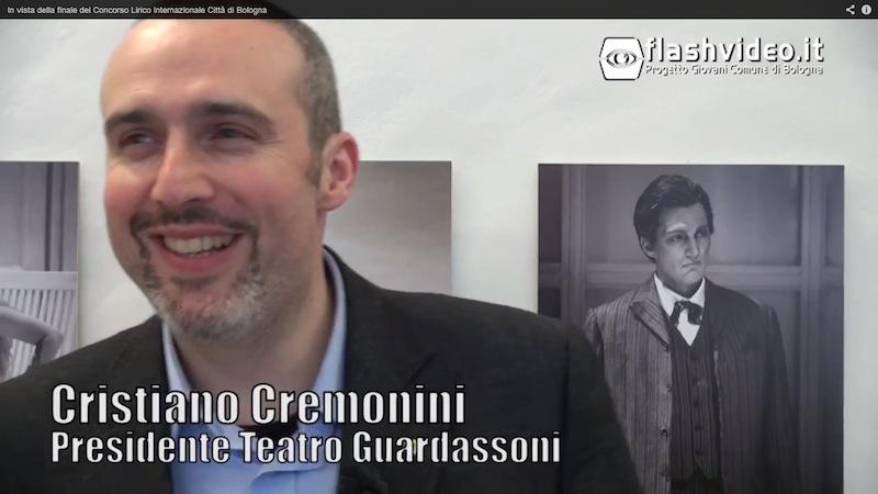 Cristiano Cremonini tenore - intervista Flashvideo