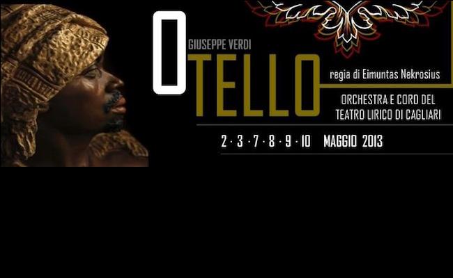 Otello locandina al Teatro Lirico di Cagliari