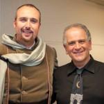 Cristiano Cremonini con il maestro del coro Marco Faelli