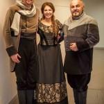 Cristiano Cremonini con il soprano Cinzia Forte e il baritono Paolo Gavanelli