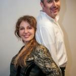 Cristiano Cremonini e Cinzia Forte