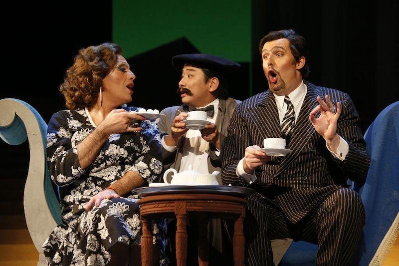 Divorzio all'italiana - scena del tè - Foto di Rocco Casaluci