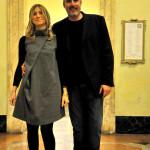 Cristiano con Belinda Gottardi - Assessore alla Cultura di Castel Maggiore