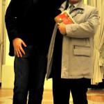 Cristiano con Daniele Ravaglia - Direttore Generale di Emil Banca Credito Cooperativo