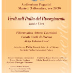 Locandina Auditorium Paganini di Parma