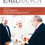 Copertina rivista Emilbanca - marzo 2014