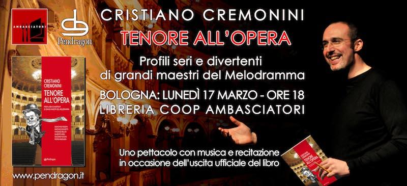 Evento Tenore all'Opera Librerie Coop Bologna 17 marzo 2014
