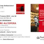 Invito Tenore all'Opera Librerie Coop 1