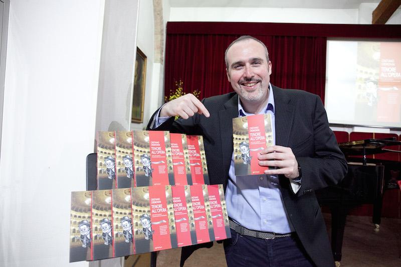 Cristiano Cremonini presenta a Parma il libro Tenore all'Opera