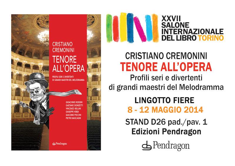 Tenore all'Opera al salone del libro di Torino 2014