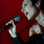 La cantante Agata Leanza