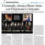 Concerto di Capodanno Teatro Comunale Bologna 2014/2015