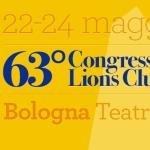 """""""Cristiano Cremonini tra gli ospiti d'onore del concerto inaugurale del """"63° Congresso nazionale Lions Club 2015"""", che si svolgerà venerdì 22 maggio 2015, ore 21 al Teatro Manzoni di Bologna""""."""