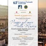 Al Manzoni il 22 maggio grande concerto per inaugurare il 63° Congresso Nazionale Lions Club 2015