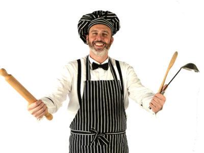 Cristiano Cremonini tenore in cucina palazzo re enzo 2016