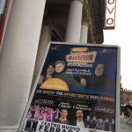 Il manifesto di Makkeroni al Teatro Nuovo di Ferrara