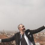 Cristiano Cremonini per il videoclip di Libertà sulla Torre Prendiparte a Bologna
