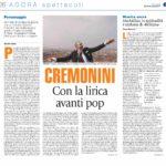 Cristiano Cremonini tenore Bologna articolo Avvenire