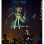 """Cristiano Cremonini concerto """"Tempo Presente"""" Teatro Celebrazioni Bologna"""