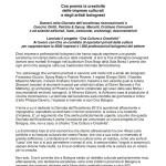 Cristiano Cremonini Cantante Lirico Tenore Opera Singer Tenor Bologna Cna eccellenza cultura comunicato