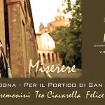 Cristiano Cremonini Tenore Opera Singer Cantante Lirico Bologna Invito presentazione Miserere