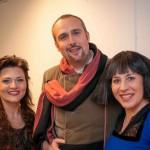 Cristiano Cremonini con Serena Daolio e Giovanna Lanza