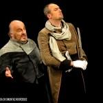 Cristiano Cremonini con il baritono Paolo Gavanelli nell'Otello