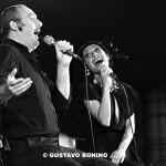 Il tenore Cremonini e Teo Ciavarella stasera in concerto con Agata Leanza alla Corte comunale di San Lazzaro - Bologna
