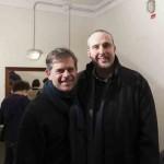 Cristiano Cremonini Spot Unicredit Banca 2015 con Angelo Libri