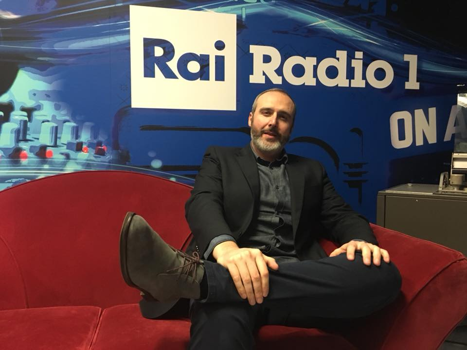 Cristiano Cremonini a Rai Radio 1 - video e audio